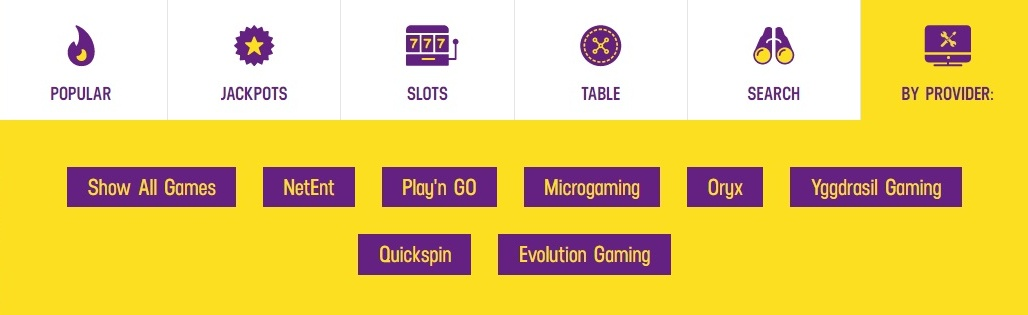 Lucky Casino.com games