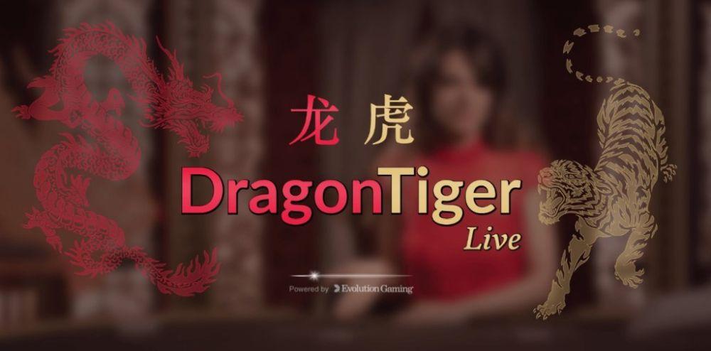 Evolution Game Shows: Dragon Tiger Live
