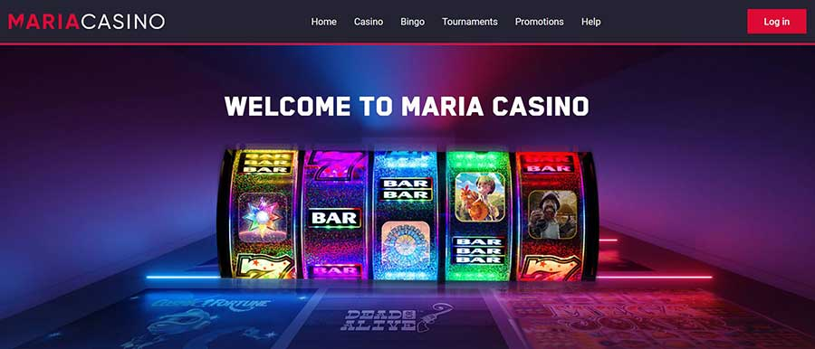 Maria Casino, Bingo en Live Casino