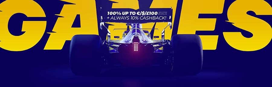 Race Casino startpagina